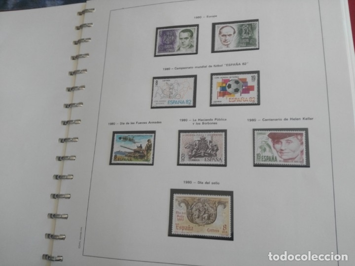 Sellos: album de sellos desde el año 1977 a 1987 - sellos nuevos - Foto 43 - 173207645