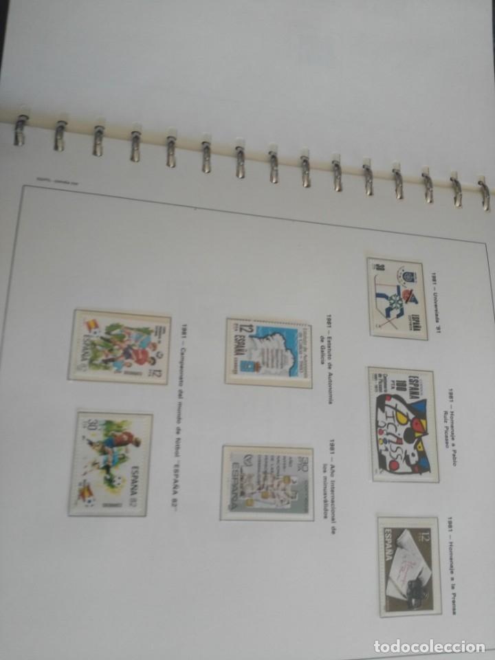 Sellos: album de sellos desde el año 1977 a 1987 - sellos nuevos - Foto 48 - 173207645