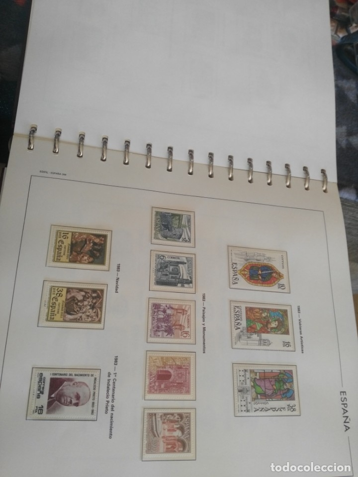 Sellos: album de sellos desde el año 1977 a 1987 - sellos nuevos - Foto 63 - 173207645