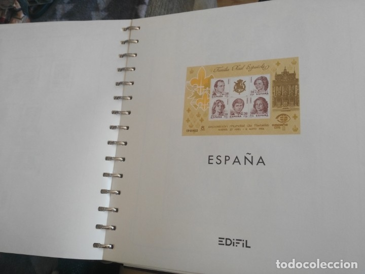 Sellos: album de sellos desde el año 1977 a 1987 - sellos nuevos - Foto 67 - 173207645