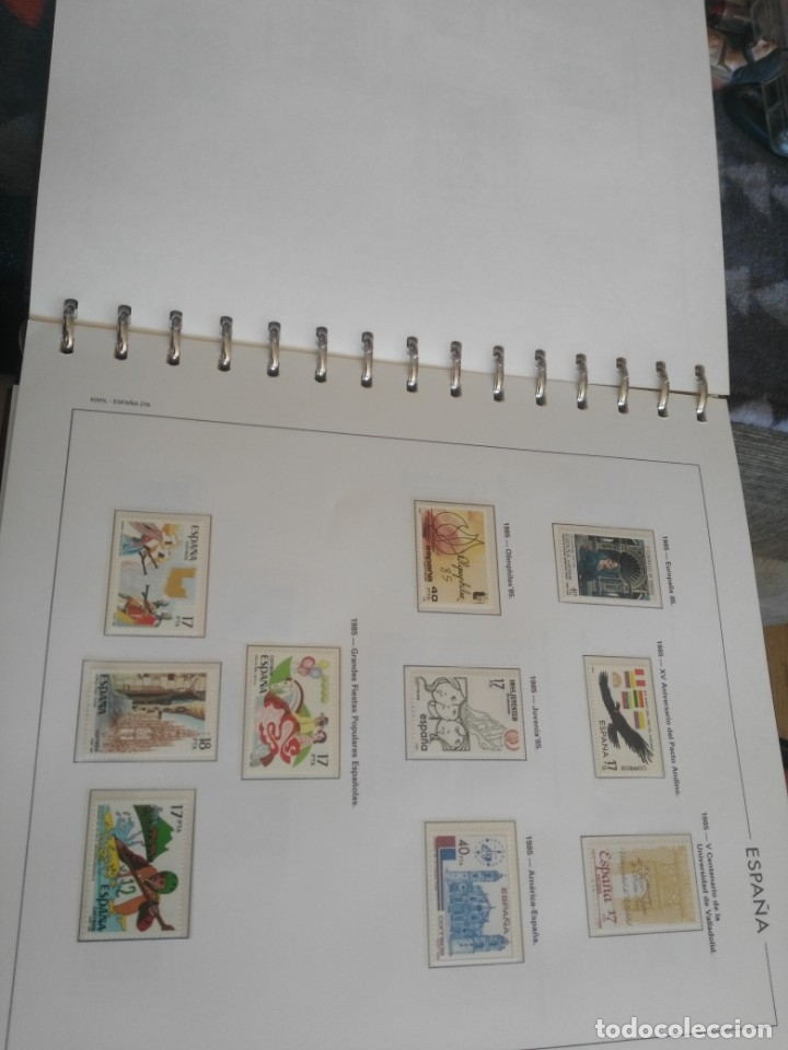 Sellos: album de sellos desde el año 1977 a 1987 - sellos nuevos - Foto 72 - 173207645