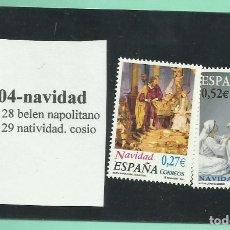 Sellos: 2 SELLOS 2004. NAVIDAD. COLECCIONISMO Y FRANQUEO. Lote 173435923