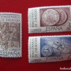 Sellos: 1976 BIMILENARIO DE ZARAGOZA, EDIFIL 2319/21. Lote 173523224