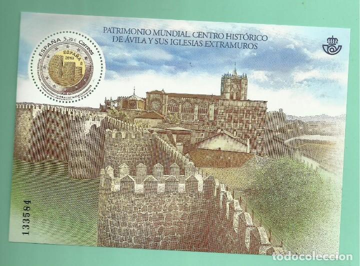 HB 2019. CENTRO HISTÓRICO AVIL FACIAL DE 5,20 EUROS. 30% DTO. ÚTILES PARA COLECCIÓN O FRANQUEO (Sellos - España - Juan Carlos I - Desde 2.000 - Nuevos)