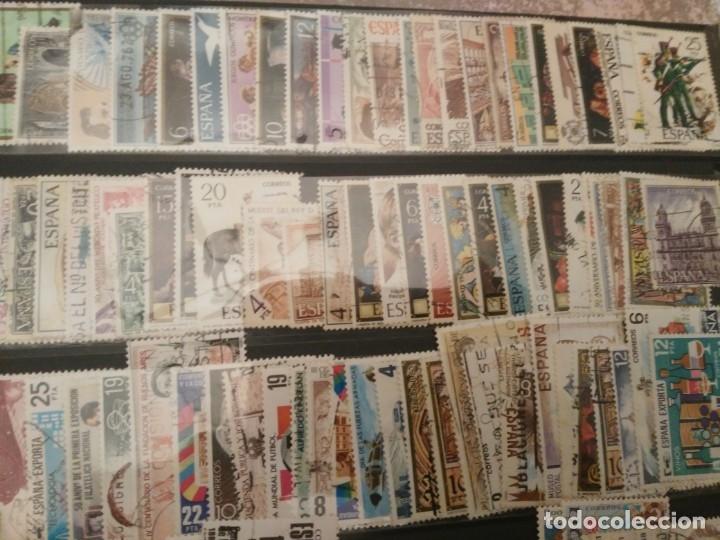 Sellos: Lote 275 sellos españa diferentes - comprenden años desde 1970 a 1992 - Foto 4 - 173882632