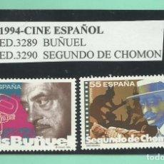 Sellos: 2 SELLOS 1994-CINE ESPAÑOL- NUEVOS. Lote 173913507