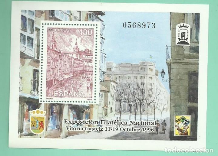 1996 EXFILNA´96 (Sellos - España - Juan Carlos I - Desde 1.986 a 1.999 - Nuevos)