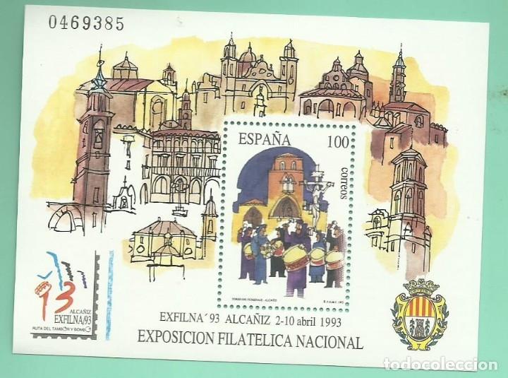1993. EXFILNA ´93. ALCAÑIZ (Sellos - España - Juan Carlos I - Desde 1.986 a 1.999 - Nuevos)
