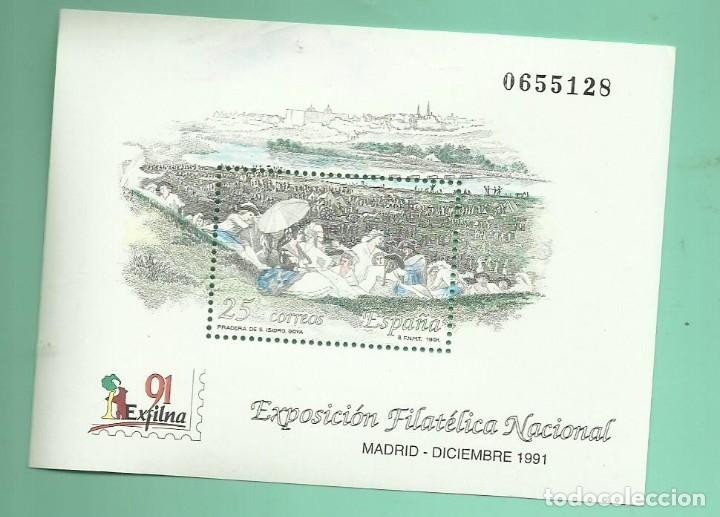 1991 EXFILNA 1991. MADRID (Sellos - España - Juan Carlos I - Desde 1.986 a 1.999 - Nuevos)