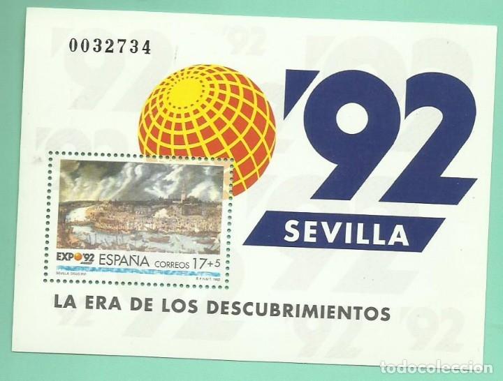1992. EXPO SEVILLA´92. LA ERA DE LOS DESCUBRIMIENTOS (Sellos - España - Juan Carlos I - Desde 1.986 a 1.999 - Nuevos)