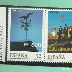 Sellos: 2 SELLOS 1997. CINE ESPAÑOL. Lote 174036654