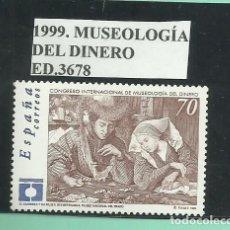 Sellos: 1999. MUSEOLOGÍA DEL DINERO. Lote 174080488