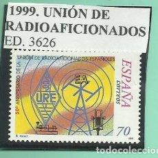 Sellos: 1999. UNIÓN DE RADIOAFICIONADOS. Lote 174141194