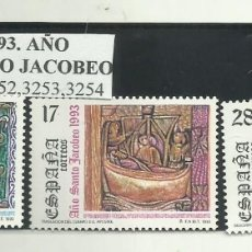 Sellos: 3 SELLOS 1993. AÑO SANTO JACOBEO. Lote 174142359