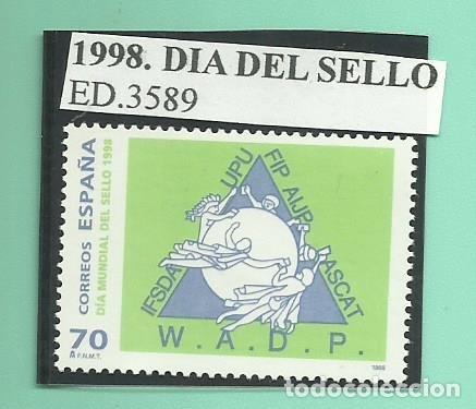 1998. DIA MUNDIAL DEL SELLO (Sellos - España - Juan Carlos I - Desde 2.000 - Nuevos)