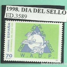 Sellos: 1998. DIA MUNDIAL DEL SELLO. Lote 174145920