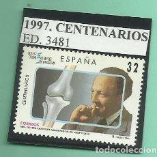 Sellos: 1997. CENTENARIOS. JOSEP TRUETA I RASPALL. Lote 174152590