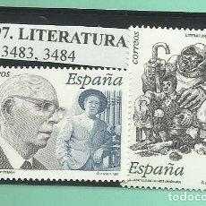 Sellos: 2 SELLOS 1997.LITERATURA ESPAÑOLA. Lote 174153133