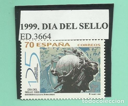 1999. DIA DEL SELLO (Sellos - España - Juan Carlos I - Desde 2.000 - Nuevos)