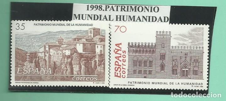 1998. PATRIMONIO MUNDIAL DE LA HUMANIDAD (Sellos - España - Juan Carlos I - Desde 2.000 - Nuevos)