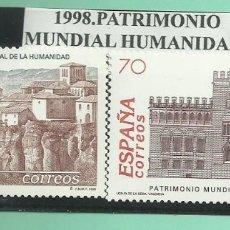 Sellos: 1998. PATRIMONIO MUNDIAL DE LA HUMANIDAD. Lote 174178654