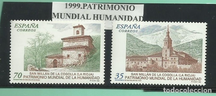 1999. PATRIMONIO MUNDIAL DE LA HUMANIDAD (Sellos - España - Juan Carlos I - Desde 2.000 - Nuevos)