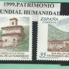 Sellos: 1999. PATRIMONIO MUNDIAL DE LA HUMANIDAD. Lote 174182278