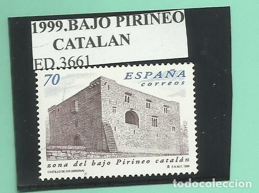 1999. BAJO PIRINEO CATALÁN (Sellos - España - Juan Carlos I - Desde 2.000 - Nuevos)