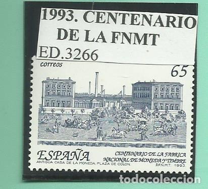 1993. CENTENARIO DE LA FNMT (Sellos - España - Juan Carlos I - Desde 2.000 - Nuevos)