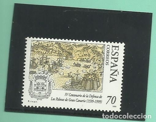 1999. V CENTENARIO DE LA DEFENSA G.CANARIA (Sellos - España - Juan Carlos I - Desde 2.000 - Nuevos)