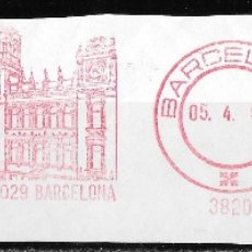 Sellos: FRANQUEO MECANICO ESPAÑA. BARCELONA 1991. ANTIGUA EDITORIAL RAMON SOPENA. Lote 174256607