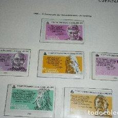 Sellos: ESPAÑA 1986 2860/5 SELLOS NUEVOS V CENTENARIO DEL DESCUBRIMIENTO DE AMERICA. Lote 174520040