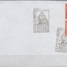 Timbres: SOBRE CON MATASELLO ESPECIAL DE LA FUNDACION MUSEO DE LAS FERIAS DE MEDINA DEL CAMPO DEL AÑO 2001. Lote 174586474