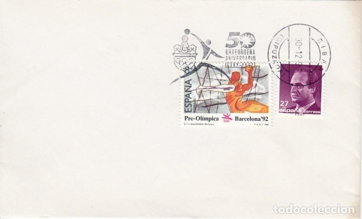 SOBRE: 1997 EIBAR. 50 ANIVERSARIO (Sellos - España - Juan Carlos I - Desde 1.975 a 1.985 - Cartas)