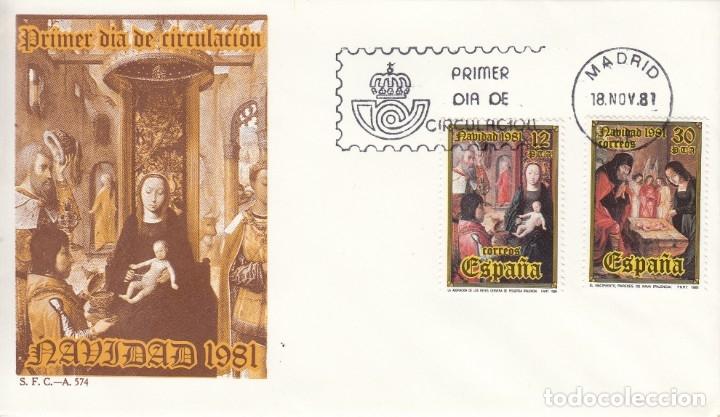 SOBRE: 1981 MADRID. NAVIDAD (Sellos - España - Juan Carlos I - Desde 1.975 a 1.985 - Cartas)