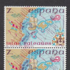 Selos: ERROR MACULATURA - PAREJA DEL NUM. 2622 MANCHAS EN LA COSTA DE VALENCIA - NUEVOS SIN FIJASELLOS. Lote 175280234