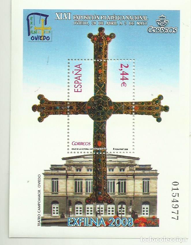 HB 2008, EXFILNA 2008. SELLO DE 2,44 EUROS 30% DESCUENTO (Sellos - España - Juan Carlos I - Desde 2.000 - Nuevos)