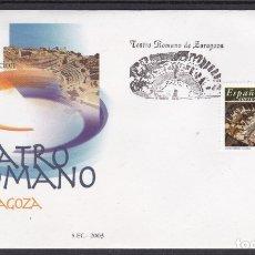 Sellos: 2003 - TEATRO ROMADO DE ZARAGOZA SPD EDIFIL Nº 3984. Lote 175906735