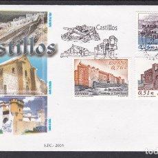 Sellos: 2003 - CASTILLOS SPD EDIFIL Nº 3986/8. Lote 175906882