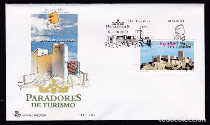 2003 - PARADORES SPD EDIFIL Nº 3999 (Sellos - España - Juan Carlos I - Desde 2.000 - Cartas)