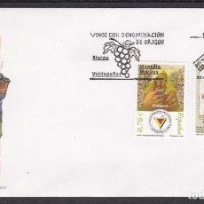 Timbres: 2003 - VINOS CON DENOMINACIÓN DE ORIGEN SPD EDIFIL Nº 4016/7. Lote 175907525