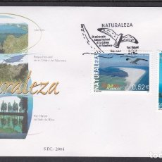 Sellos: 2004 - NATURALEZA 2 SPD EDIFIL Nº 4122/4. Lote 175907722