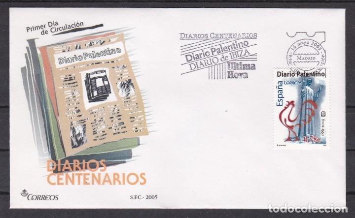 2005 - DIARIOS CENTENARIOS SPD EDIFIL Nº 4165 (Sellos - España - Juan Carlos I - Desde 2.000 - Cartas)