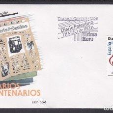 Sellos: 2005 - DIARIOS CENTENARIOS SPD EDIFIL Nº 4165. Lote 175907885