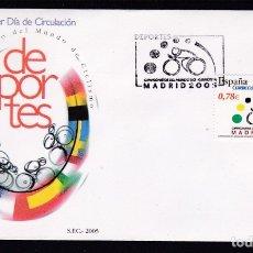 Sellos: 2005 - CAMPEONATO DEL MUNDO DE CICLISMO SPD EDIFIL Nº 4184. Lote 175908015