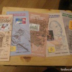 Sellos: CORREOS Y TELEGRAFOS ,DIA MUNDIAL DEL MEDIO AMBIENTE, DON JUAN DE BORBON,CENTENARIO FERROCARRIL, ETC. Lote 176222149