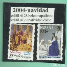 Sellos: 2 SELLOS 2004. NAVIDAD. COLECCIONISMO Y FRANQUEO. Lote 177008235