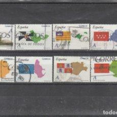 Sellos: ESPAÑA 2011 - EDIFIL NRO. 4613-20 - USADOS. Lote 177183324