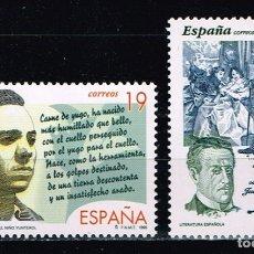Sellos: ESPAÑA 1995 - EDIFIL 3356/57** - LITERATURA ESPAÑOLA. Lote 177433008