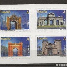 Sellos: R13/ ESPAÑA 2012, MNH**, ARCOS Y PUERTAS MONUMENTALES. Lote 177503940